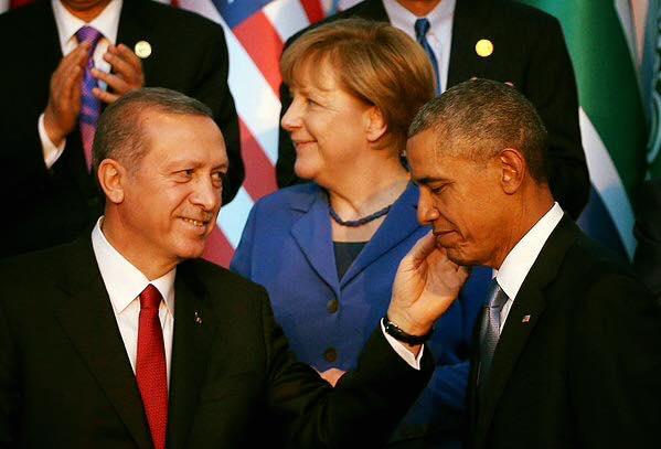 Samit G20 u Antaliji: Erdogan tješi Obamu