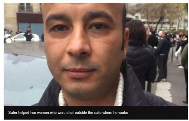 Pariz: Konobar Safer rizikovao život spašavajući dvije ranjenje Francuskinje