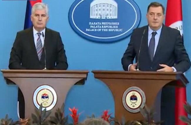 Milorad Dodik i Dragan Čović pokreću združenu ofanzivu na Ustavni sud BiH