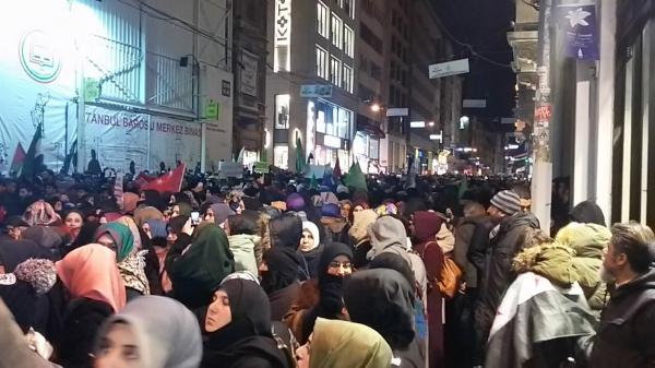 Hiljade građana na ulicama Istanbula tražili ulazak turske vojske u Halep (VIDEO)
